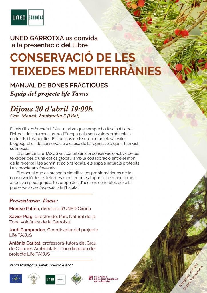 Presentació del Manual de conservació de les teixedes mediterrànies