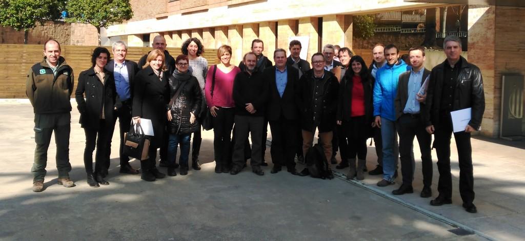Reunió del Grup de Treball (febrer 2017)