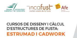 CURSOS DE DISSENY I CÀLCUL D'ESTRUCTURES DE FUSTA: ESTRUMAD I CADWORK @ CTFC | Solsona | Catalunya | España