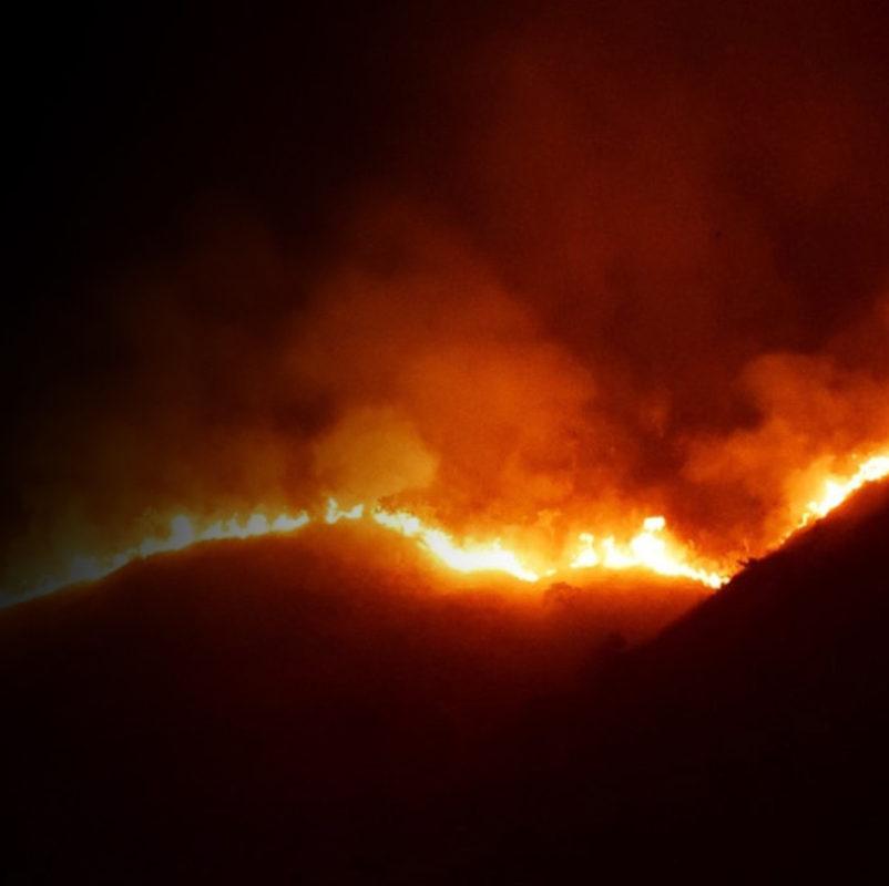 La conectividad forestal juega un papel clave sobre el tamaño de los incendios bajo ciertas condiciones meteorológicas